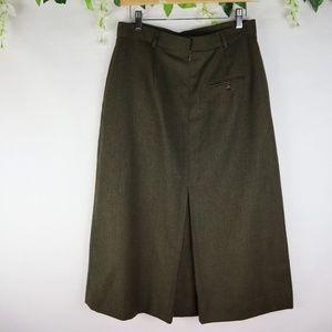Vintage Teacher's Wool Skirt 12